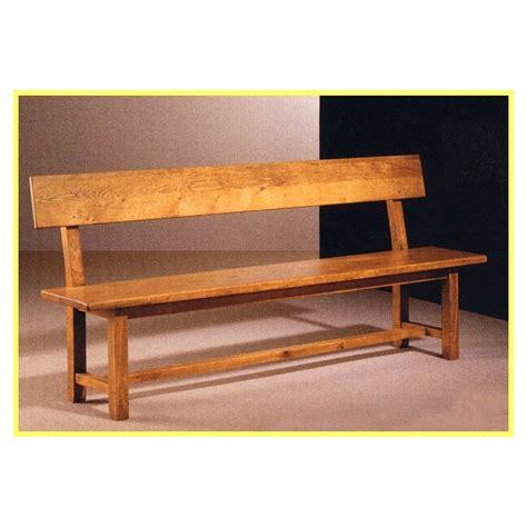 banc en bois plan banc en bois avec dossier obasinc