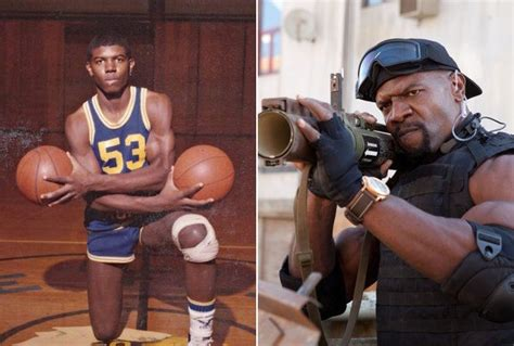 terry crews young photos terry crews then now the expendables before they