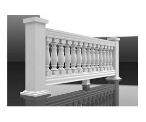 decorative outdoor handrails,baluster mold concrete