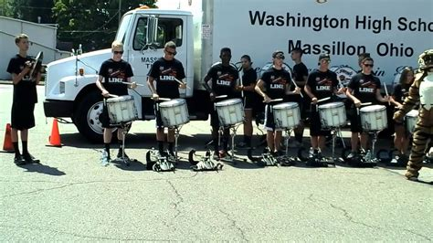 massillon tiger swing band massillon tiger swing band drumline obie 8 15 20 youtube
