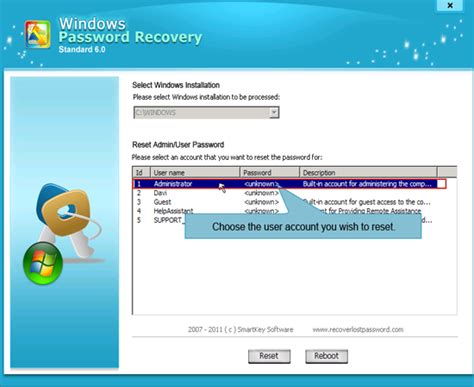 resetting windows xp professional administrator password reset administrator password xp pro