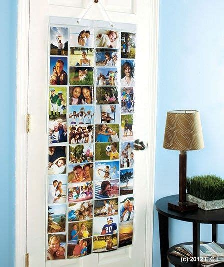 hanging picture collage 80 pocket 4x6 photo organizer in stock 53 quot hanging picture