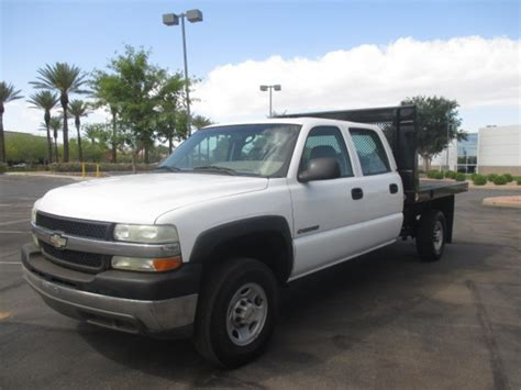 chevy trucks for sale in az used 2002 chevrolet silverado 2500hd flatbed truck for