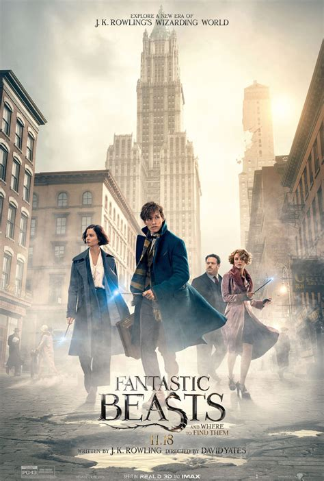 fantastic beast fantastic beasts and where to find them poster harry