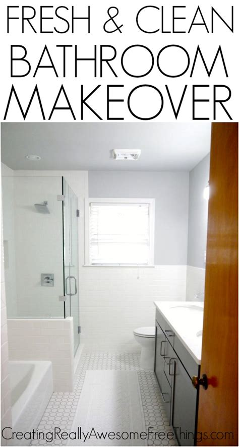 free bathroom makeover bathroom remodel is officially the big reveal c