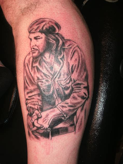 che guevara tattoo the che guevara files los archivos de che guevara