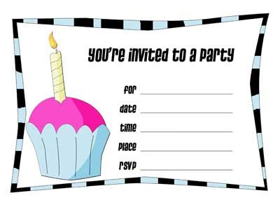 how to make birthday invitation cards free printable birthday invitations make your own invitation