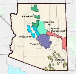 arizona national forest map arizona geology u s forest service finalizes planning rule