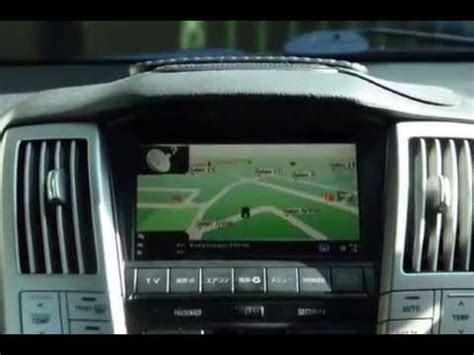 security system 2004 lexus is navigation system lexus rx 330 installed fm converter with papago gps navigation system youtube