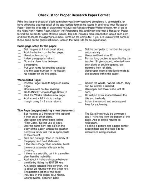 format essay font research paper format font size