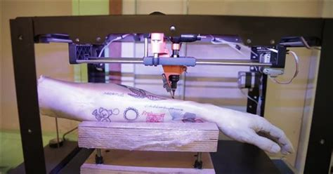new tattoo printer arriva tattoo 3d printer la stante 3d che fa tatuaggi