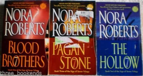 nora sign of seven trilogy box set nora sign of seven trilogy lot of 3 blood brothers