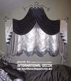 silver and black swag curtains bedroom curtains