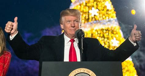 donald trump christmas message with his christmas message trump fulfilled another