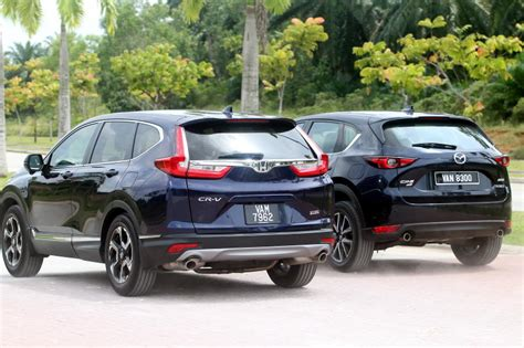 Mazda Cx 5 Vs Honda Cr V Review by Mazda Cx5 Honda Crv Review Autos Post