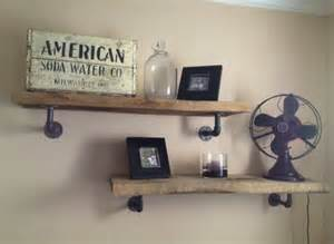 pipe shelves diy diy wood galvanized pipe shelves nursery