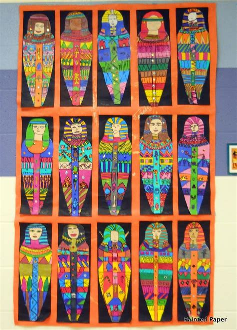 themes for drawing projects 107 best images about egyptian art ideas on pinterest