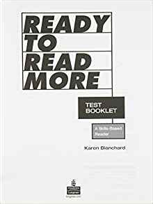 ready to read more test booklet blanchard