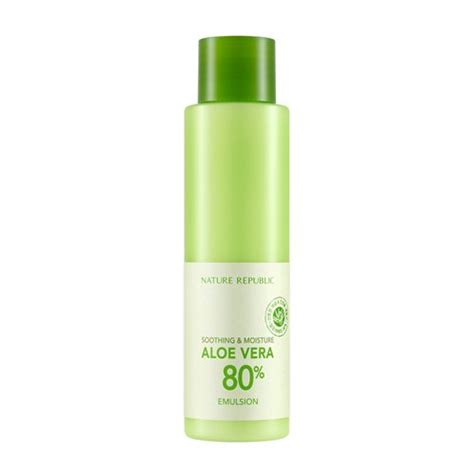 Nature Republic Soothing Emulsion nature republic soothing moisture aloe vera 80 emulsion