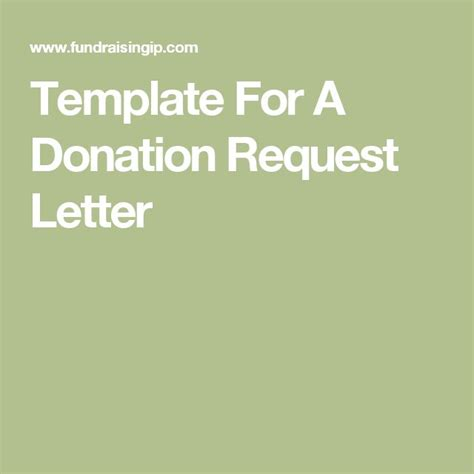non profit donation card template template for a donation request letter swh