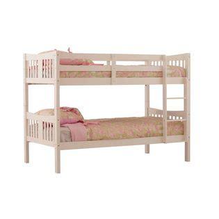 Summer C Bunk Beds Stork Craft Caribou Bunk Bed White Home Furniture Bedroom Furniture Beds