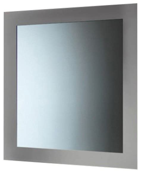 silver bathroom mirror silver horizontal or vertical mirror with frame
