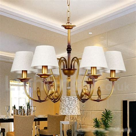 New Style Chandeliers 6 Light Modern Contemporary Rustic Living Room Retro