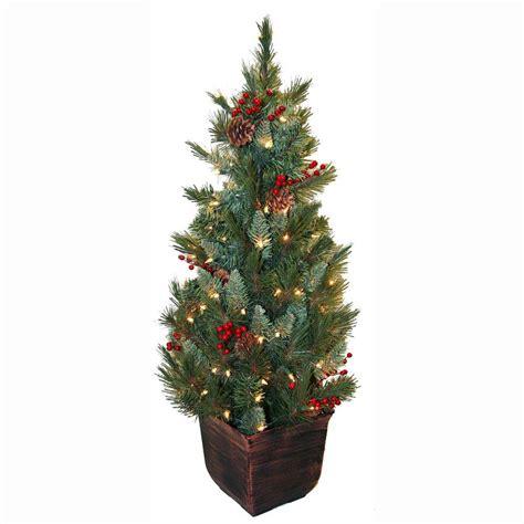 Charming 3 Foot Christmas Trees Pre Lit #4: Greens-general-foam-pre-lit-christmas-trees-hd-e149c1p-64_1000.jpg