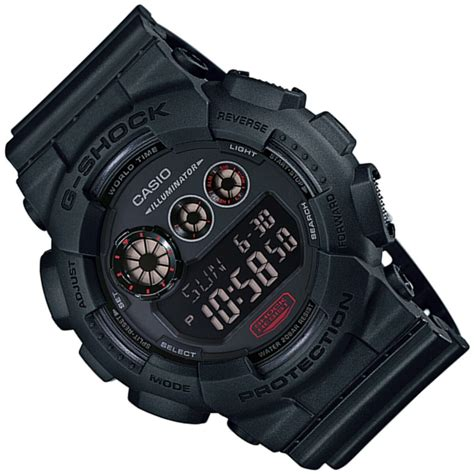 Casio G Shock Gd 120mb 1 Original Garansi Resmi 1 Tahun casio g shock gd120mb 1 multifunction black resin band