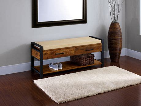hallway benches canada home trends entryway bench for sale at walmart canada buy