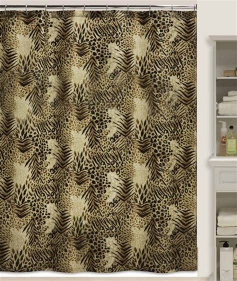 tiger print shower curtain crboger com tiger print shower curtain baby green 09 02 11