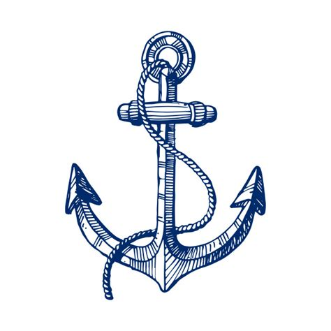 what size anchor rope for my boat navy blue nautical boat anchor illustration simple t