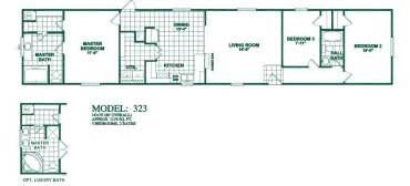 2 bedroom 1 bath mobile home floor plans floorplans photos oak creek manufactured homes