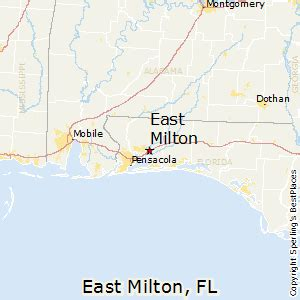 best places to live in east milton florida