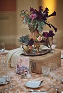 theme centerpiece let s fly away together travel theme wedding ideas