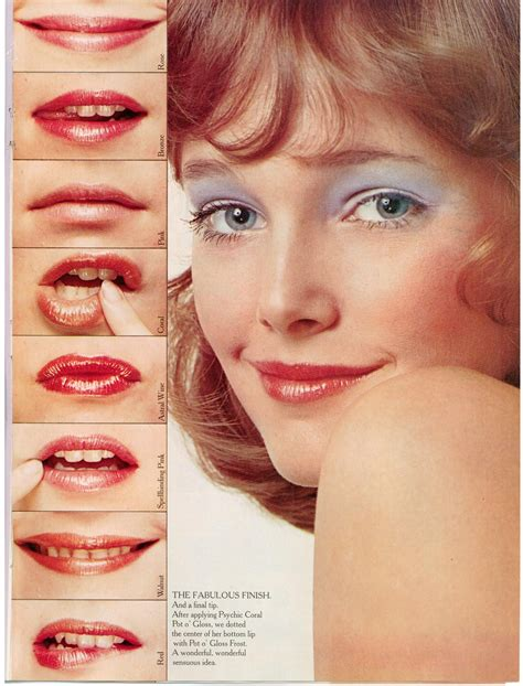 makeup for women in their 70s tutorial musings from marilyn 187 yardley s crash course in makeup 1972