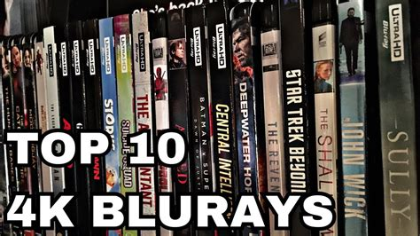 best 4k movies top 10 4k bluray movies youtube