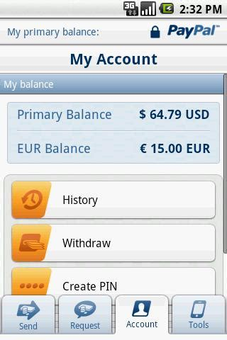 paypal mobile application paypal launches updated paypal mobile application