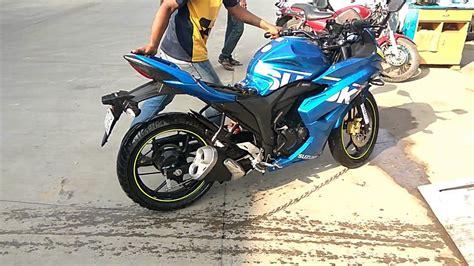 suzuki gixxer sf automatic bike wash ebw express bike