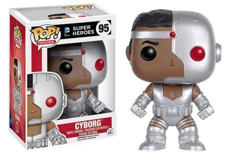 Funko Pop Heroes Heroes Cyborg 95 Dc Comics Vinyl Figure Collec Funko Pop Dc Comics Heroes Figures Checklist Info