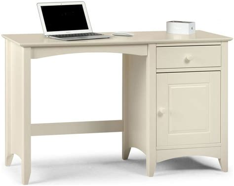 off white desk with drawers julian bowen cameo off white desk 1 door 1