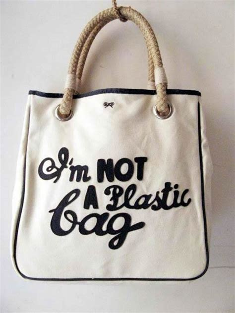 Im Not A Plastic Bag Im A Personalised Photo Bag By Anya Hindmarch by экологичное производство упаковки