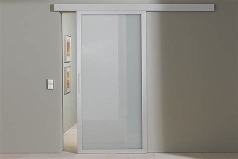 Sliding Door Frosted Glass Aluminum Sliding Door In Frosted Glass Sunfold