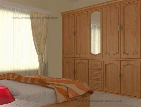 Bedroom Doors In Kerala Evens Construction Pvt Ltd Kerala Bedroom Interior Design