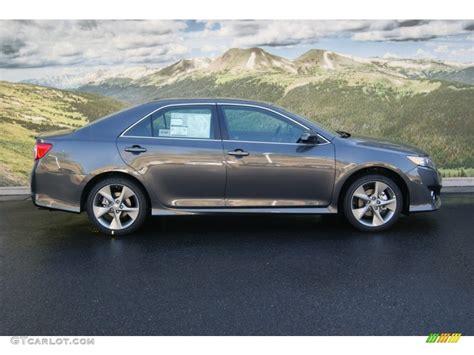 2012 Toyota Camry Se V6 Magnetic Gray Metallic 2012 Toyota Camry Se V6 Exterior