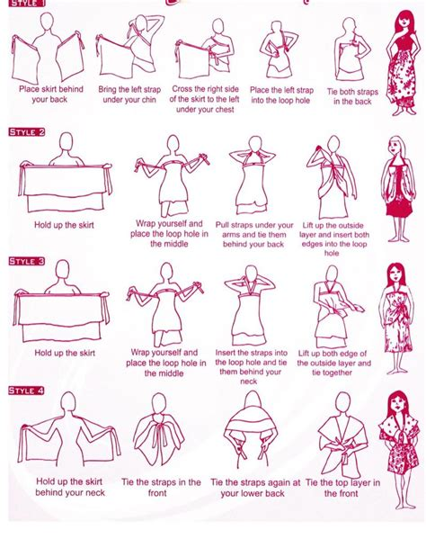 How To Make A Dress Out Of Wrapping Paper - magic skirt wrap dress 36 quot length skirt vintage