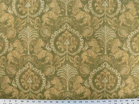 upholstery fabric ebay drapery upholstery fabric renaissance coat of arms