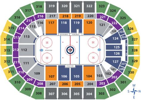 Rogers Centre Floor Plan nhl hockey arenas mts centre home of the winnipeg jets