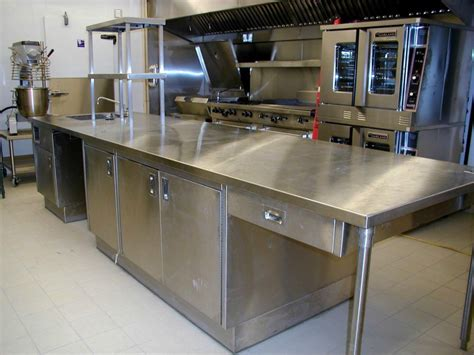 commercial kitchen cabinets