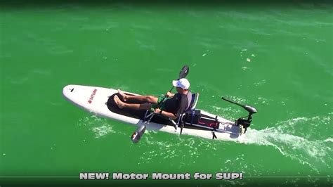 total boat skiff ebay 399 sup with 55lbs electric motor youtube